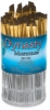 Synthetic Filbert/Angle Brushes, Canister Set of 72