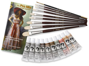 Portrait Paint Set