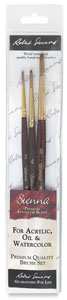Sienna Pack S, Set of 3 Brushes