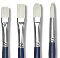 Silver Brush Bristlon Synthetic Brushes