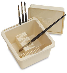 Plastic Brush Basin