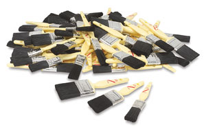 Utility Brushes, Set of 72