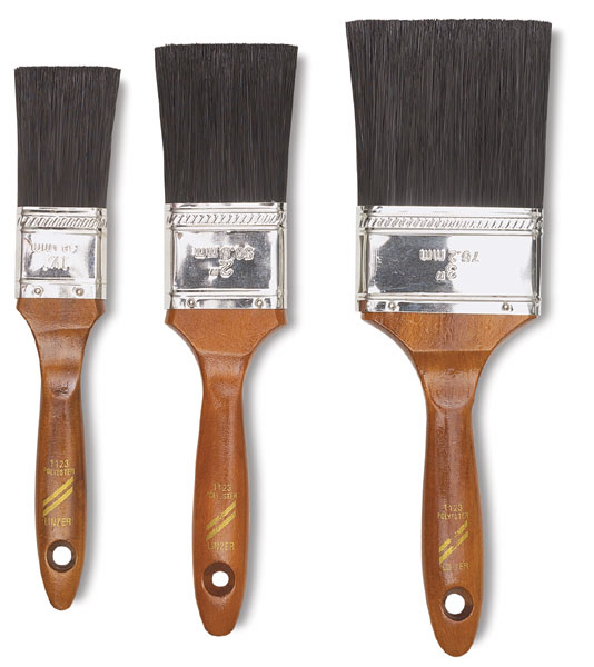 Flat Brushes, Set of 3
