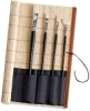 Richeson Bamboo Brush Roll-up