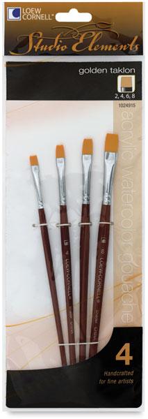 Golden Taklon Shader, Set of 4