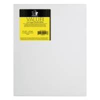Cut Edge Canvas Panels, Pkg of 25