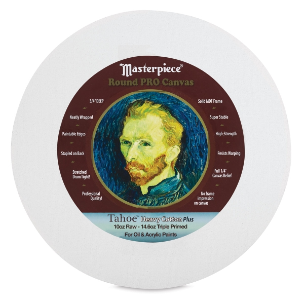 Masterpiece Round Pro Canvas