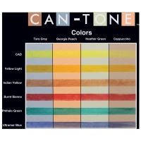 Can-Tone Panel with pastel swatches