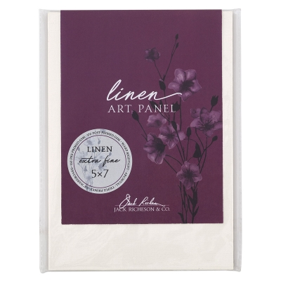 Linen Canvas Panel, Extra Fine