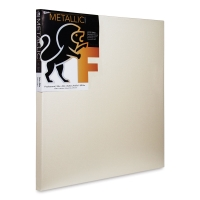 Metallic Stretched Canvas, Pearl