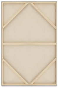 "Back View, 48"" × 72"" (Pkg of 3)"