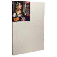 The Artist Grid Cotton Canvas