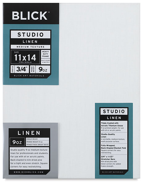 Studio Linen Canvas, 3/4""