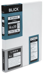 Studio Linen Canvas, 1 1/2""