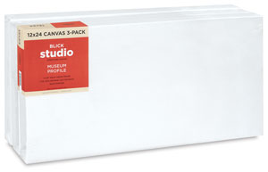 Museum Profile Canvas, Pkg of 3