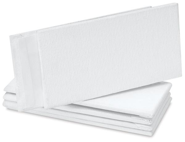 """Studio Mini Canvas Panel, 2"""" × 4"""", Pkg of 6"""