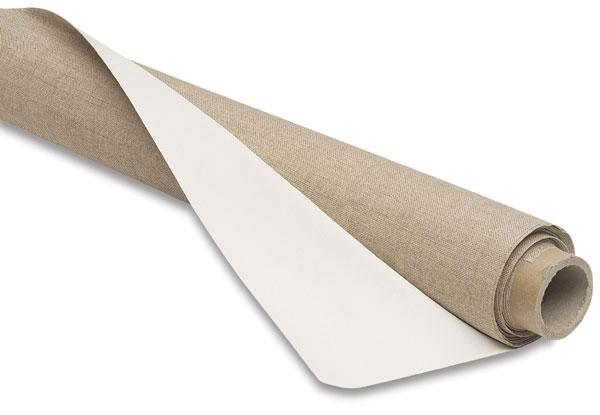 Acrylic Primed Linen Roll