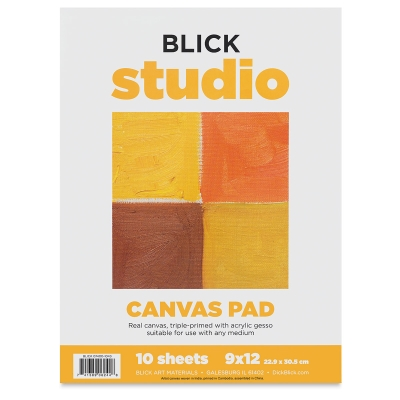 Studio Canvas Pad, 10 Sheets