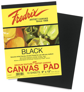 Black Canvas Pad