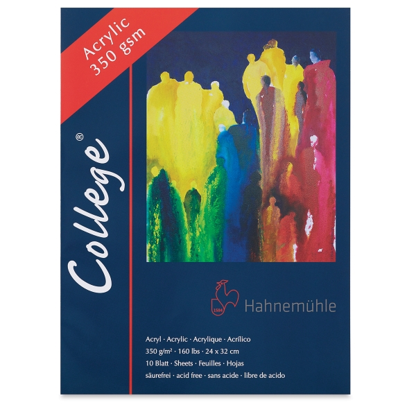 College Acrylic Blocks, 10 Sheets