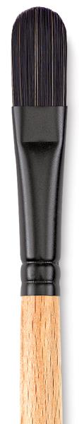 Filbert, Size 6, Short Handle