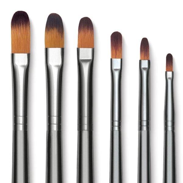 Filbert Brushes, Short Handle