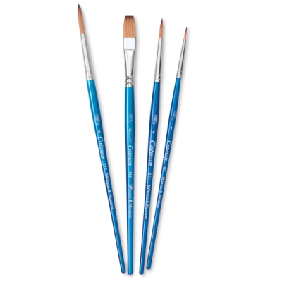 Cotman Watercolor Brushes Set B, Set of 4