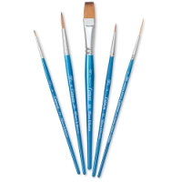 Cotman Watercolor Brushes Set D, Set of 5