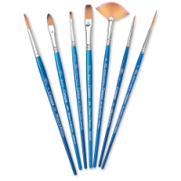 Cotman Watercolor Brushes Set E, Set of 7