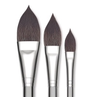 Pointed Oval Brushes