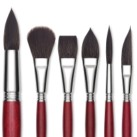 Synthetic Squirrel Brushes