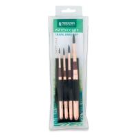 Neptune Series 4750 Pro Series Travel Round Brushes, Set of 4