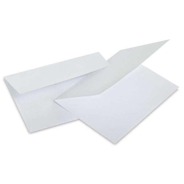 """White, 4½"""" × 5½"""", Pkg of 50"""