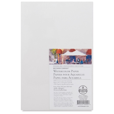 Watercolor Paper, Pkg of 50 Sheets
