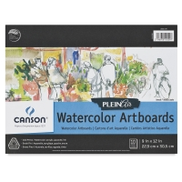 Plein Air Watercolor Artboard, 10 Sheets