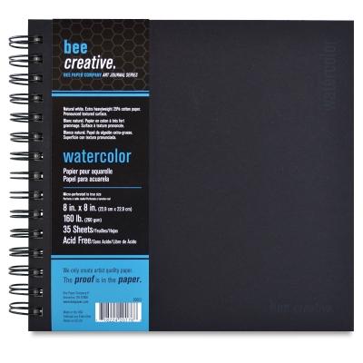 "Watercolor Book, 8"" x 8"""