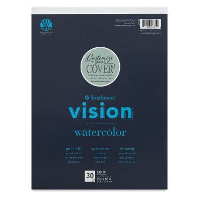 Vision Watercolor Pad, 30 Sheets