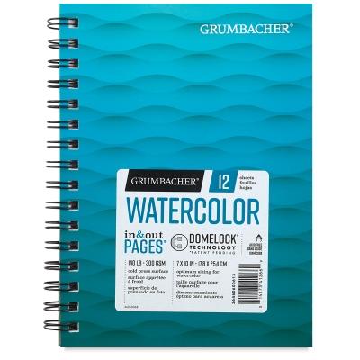 Watercolor Pad, 12 Sheets