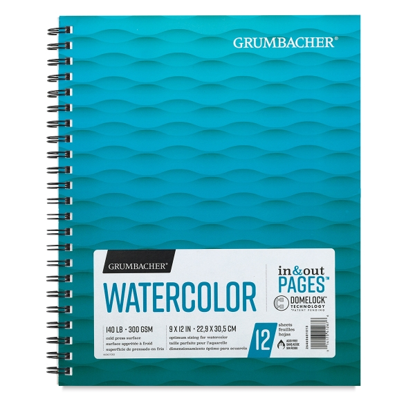 Watercolor Pad, 12 Sheets