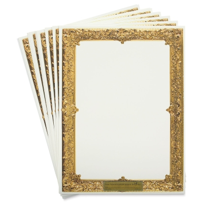 "Art1st Gold Frame Watercolor Paper, 9"" x 12"""