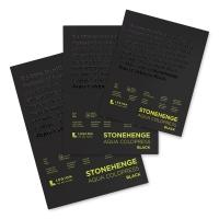 Stonehenge Aqua Black Watercolor Paper