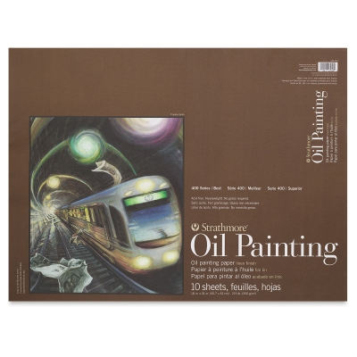 "400 Series Oil Painting Paper Pad, 18"" x 24"""