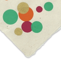 Circles (Gold, Orange, Green, and Pink)