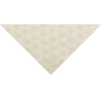 Zinnia Embossed Paper, Pearl