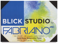 Blick Studio Watercolor Paper by Fabriano