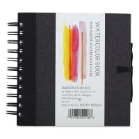 "Watercolor Journal, Hot Press, 6"" x 6"""