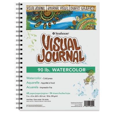 Strathmore Visual Journal, Watercolor (90 lb)