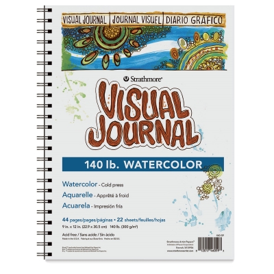 Strathmore Visual Journal, Watercolor, (140 lb)