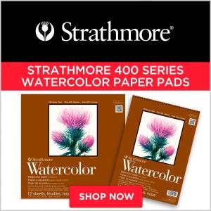Strathmore 400 Series Watercolor Paper Pads