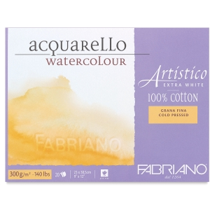 Fabriano Artistico Extra White Watercolor Blocks